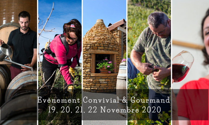 Evènement Convivial & Gourmand 19, 20, 21 et 22 Novembre 2020 en MODE DRIVE