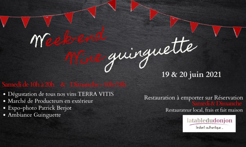 Evènement : Week-end Wine Guinguette